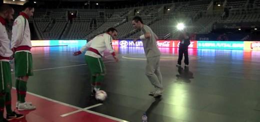 SEAN(フリースタイラー) vs リカルジーニョ(フットサルプレーヤー)